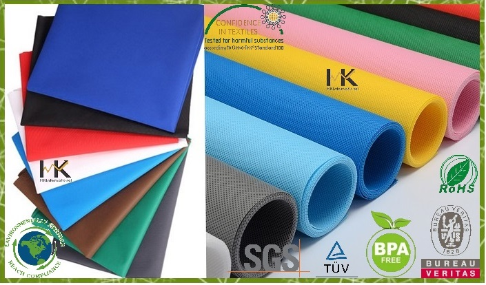 Color nonwoven fabric