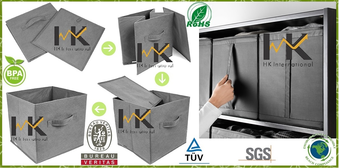 Packaging-cubes-nonwoven-fabric-foldable-storage-box