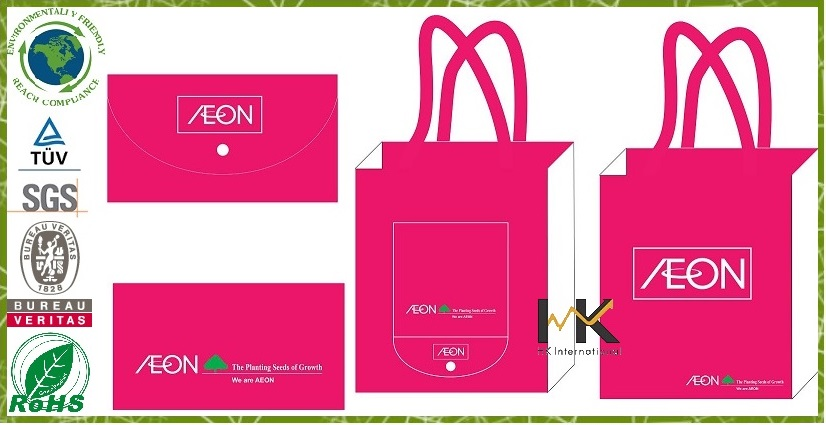 Promotion nonwoven bag